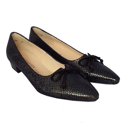 Peter Kaiser Lizzy II Womens Dress Shoes Black Logger sGnArJe
