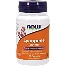 NOW Lycopene 20 mg,50 Softgels