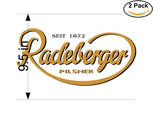 radeberger-beer-logo-alcohol-4-vinyl-stickers-decal-bumper-window-bar-wall-95-inches