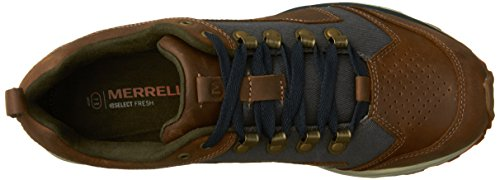 Merrell Crusher M, Stringate Uomo Marrone/Denim