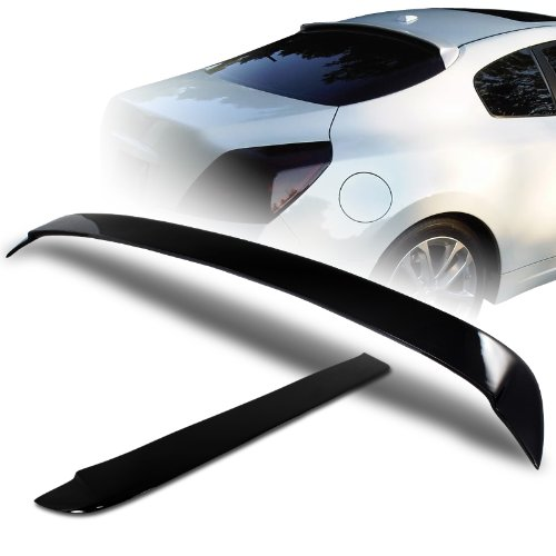 (2008 - 2010 Nissan Altima Coupe JDM Black Fiber Glass Rear Window Visor / Roof)