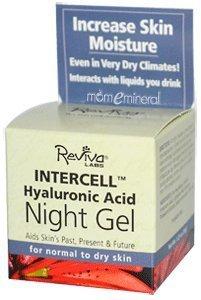 Reviva Labs interceldas Night Gel con ácido hialurónico--1.25 oz