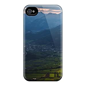 Hernandezz Premium Protective Hard Case For Iphone 4/4s- Nice Design - Unbelievable Valley Lscape