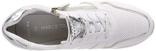 Marco Tozzi Vrouwen 23717 Sneaker Wit (wit Kam)