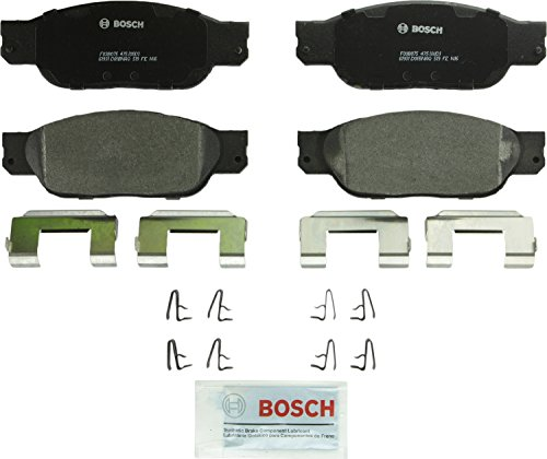 Bosch BP933 QuietCast Premium Semi-Metallic Front Disc Brake Pad Set by Bosch