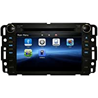 GMC SIERRA 2007-2013 K-SERIES IN DASH BLUETOOTH AM/FM RADIO GPS NAVIGATION TOUCHSCREEN DVD MP3 MP4 MULTIMEDIA SYSTEM - his unit will fit: GMC 07-13 Sierra GMC 07-12 Acadia GMC 07-11 Yukon Chevy 07-12 Silverado Chevy 08-11 Express Van Chevy 07-12 Suburban Chevy 07-12 Tahoe