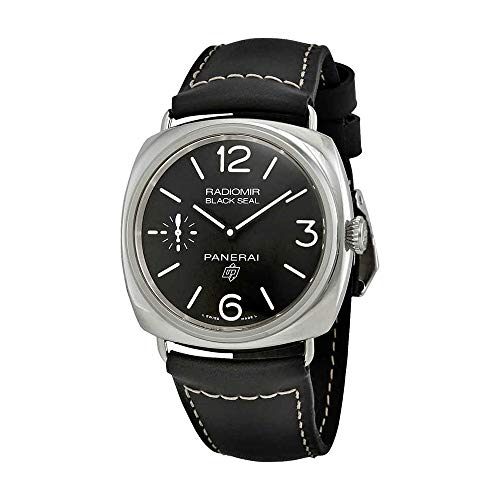 (Panerai Radiomir Black Seal Automatic Black Dial Men's Watch PAM00754)