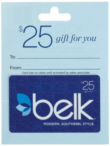 Belk Gift Card $25 (Cash Cards)