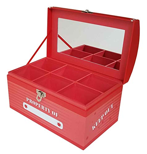 Treasure Box Jumbo - (Laser Red)