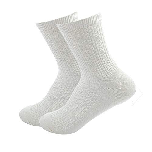 LifeWheel Women's Bamboo Fiber Super Soft Moisture Wicking Anti-bacterial Mid Length Crew Casual Cotton Socks