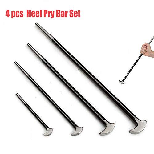 15,24 cm 30,48 cm para casa SENRISE 40,64 cm y 50,8 cm Juego de 4 barras de acero macizo para tallar clavos en el tal/ón tienda o garaje