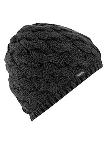 Burton Ski Hats (Burton Women's Birdie Beanie, True Black, One Size)