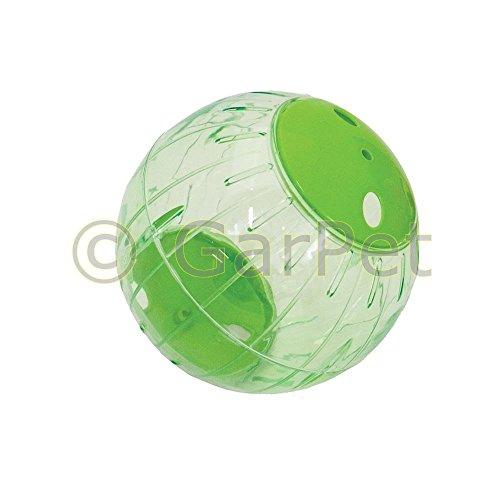 Hamsterball Mäuseball Joggingball Laufball Laufkugel Laufrad Hamster Ball (groß, grün)