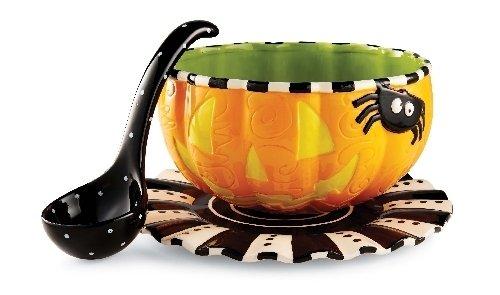 Dining Party Buffet Of Pumpkin Halloween Dinnerware Sets