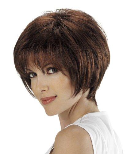 Tony of Beverly Womens Synthetic Wig ''Harlow''-Safari: 4 w/15% Malibu hi-lights