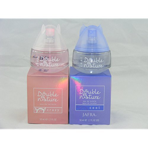 (Jafra Double Nature Cool and Double Nature Crazy EDT 1.7 Fl.oz )