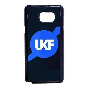 Funda Samsung Galaxy Note caja del teléfono celular 5 funda partido cuchillo Negro ukf R5D3EW