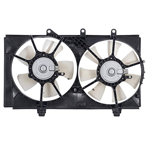Sunbelt Radiator And Condenser Fan For Dodge Neon CH3115137 Drop in Fitment ()