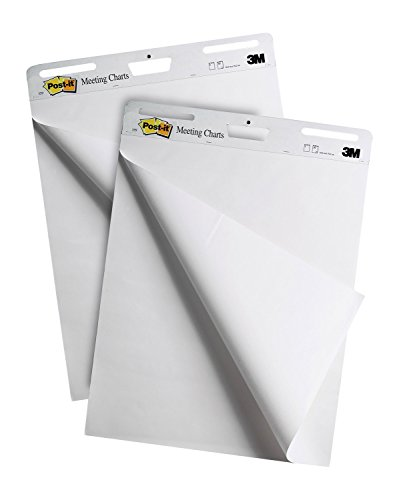 Post-it Self-Stick Easel Pad, 25 x 30.5 Inches, 30-Sheet Pad (2 Pack)