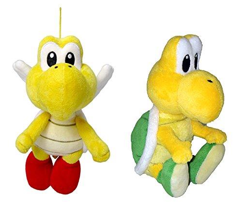 Little Buddy Mario Plush Doll Set of 2 - Pata Pata & Koopa Troopa (Super Mario Koopa Troopa Plush compare prices)