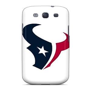 JohnPrimeauMaurice Samsung Galaxy S3 Excellent Hard Phone Covers Unique Design HD Houston Texans Skin [jsM4521FOxd]