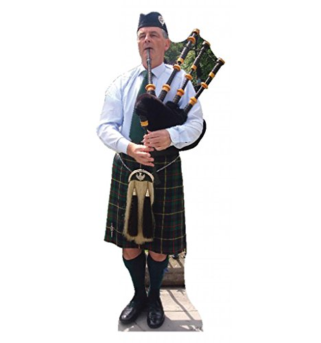 Bagpiper - Advanced Graphics Life Size Cardboard Standup