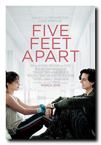 Mile High Media Five Feet Apart Movie Poster 24x36 Inch Wall Art Portrait Print