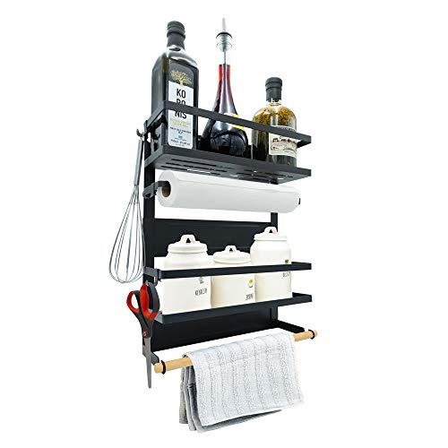 fridge magnetic spice rack - 6