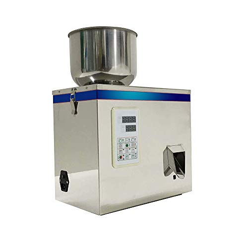 Powder Filling Machine,vinmax 1-100g Powder Particle Subpackage Machine Digital Control Multi-functional Automatic Powder Weighing and Filling Packaging Machines(suitable for all kinds of powder)(1-10