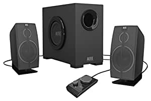Altec Lansing VS2721 2.1channels 28W Negro conjunto de altavoces - Set de altavoces (2.1 channels, 28 W, PC, Amplificador, 45 - 18000 Hz, 93 dB)