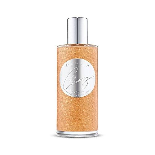 Becca x Chrissy Teigen Limited Edition Glow Body Oil! One, 3.5 Ounce Bottle Of Glow Oil! It's Summer Vacation In A (Summer Limited Edition Bottle)