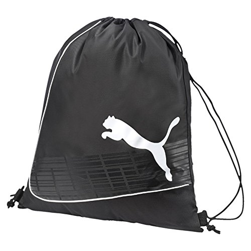 Puma - Sacca sportiva evoPOWER Gym Sack, Unisex, Turnbeutel evoPOWER Gym Sack, nero / bianco, UA