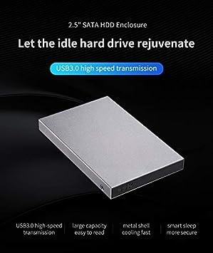 Alician HE-V600 - Carcasa para Disco Duro SSD (2,5