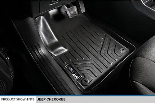 MAXLINER Floor Mats and Cargo Liner Set Black for 2014-2021 Jeep Cherokee