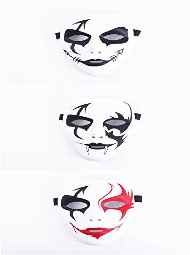 Yinasen Halloween Masquerade Cosplay Masks (Style 4)