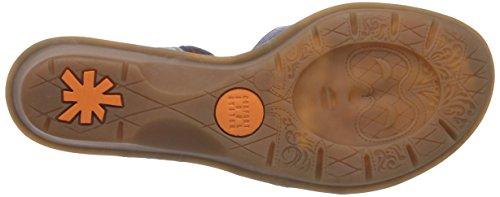 ART VENICE - Sandalias de vestir de cuero para mujer marrón - Braun (CUERO)