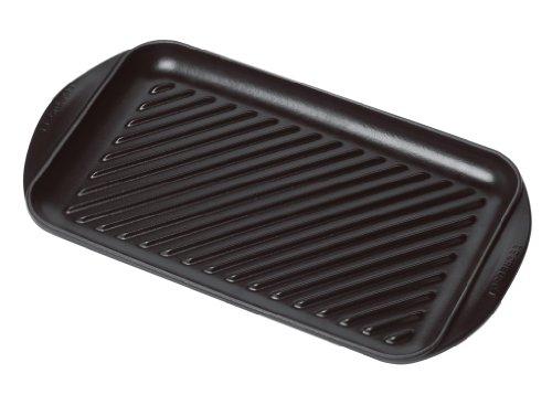 matte black enameled cast iron