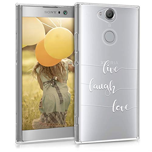 kwmobile TPU Silicone Case for Sony Xperia XA2 - Crystal Clear Smartphone Back Case Protective Cover - White/Transparent