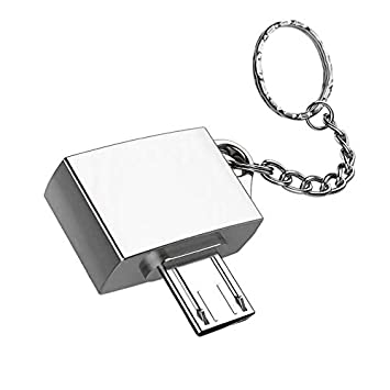 FinukGo Adaptador OTG Micro USB USB 2.0 Ultra Potable de ...