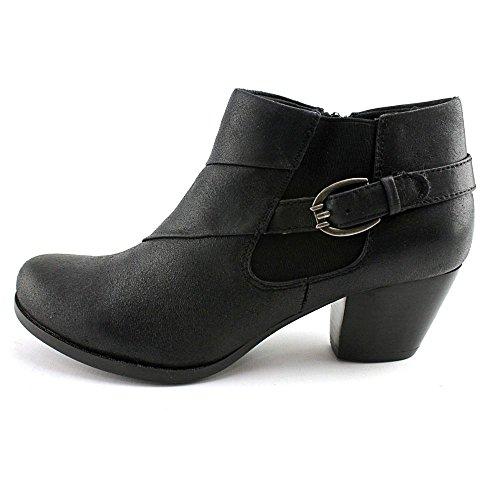 Baretraps Blote Vallen Dames Lijsterbes Amandel Teen Enkel Mode Laarzen Zwart