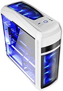 Coolbox DG-C9K-WH-0 - Caja de Ordenador de sobremesa (ATX, USB 3.0) Blanco: Amazon.es: Informática