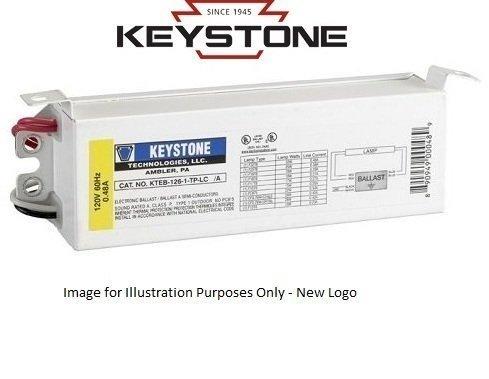 126 Lamp - Keystone KTEB-126-1-TP-LC Fluorescent Ballast, 1-Lamp, F32T8, 32W T8, 120V