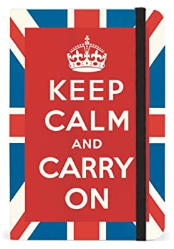 Cavallini Small Notebooks Keep Calm and Carry On, 4 x 6