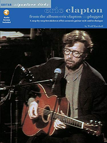 Eric Clapton - From the Album Unplugged (Guitar Signature - Eric Unplugged Clapton Guitar