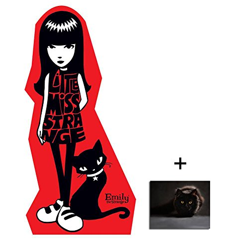 Fan Pack - Emily the Strange Lifesize Cardboard Cutout / Standee / Standup Includes 8x10 (20x25cm) Photo