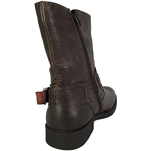 Made Cam Newton Di Robert Wayne Mens Hampton Harness Boots Brown