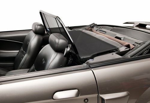 - 1994-2004 Mustang Convertible Love The Drive Wind Deflector Screen (For Vehicle Without Light/Style Bar)