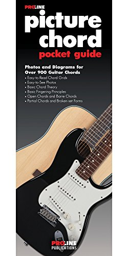 (Proline Picture Guitar Chord Pocket Guide Book)