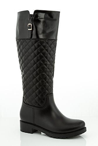hion Riding Boot with Waterproof Outsole 2391-4 - Black, Size 8.5 ()