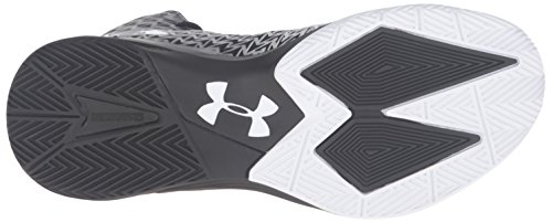 Under Armour Mænds Ua Clutchfit Drev 3 Basketball Sko Sort / Hvid / Hvid 8AJCv